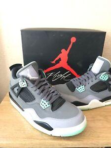 Air-Jordan-Retro-4-Green-Glow-Men-Size-9-5