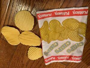 Vtg Playskool Play Food Potato Chips Bag Pretend Ebay