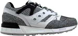 purchase cheap 1a661 036cf Image is loading Saucony-Grid-SD-MD-White-Grey-Eel-S70346-