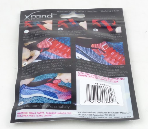 Xpand No Tie Shoelaces System with