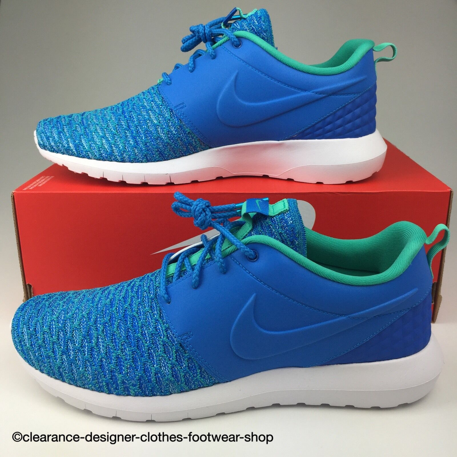 NIKE ROSHE NM FLYKNIT PRM TRAINERS ROSHERUN ROSHE RUN MENS SHOES RRP