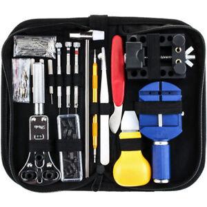 147-PCS-Kit-de-reparation-de-montres-Ensemble-professionnel-d-039-outils-de-bar-Q6T3