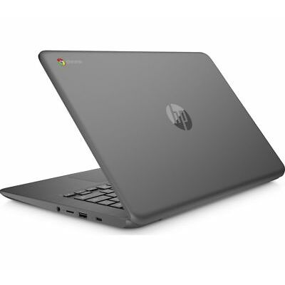 HP 14-ca050sa 14 Inch Intel® Celeron™ Chromebook - 32 GB eMMC, Grey - Currys