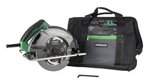"Hitachi C7SB3 15 Amp 7-1/4"" Circular Saw 0-55° Bevel Capacity, Blower Function"