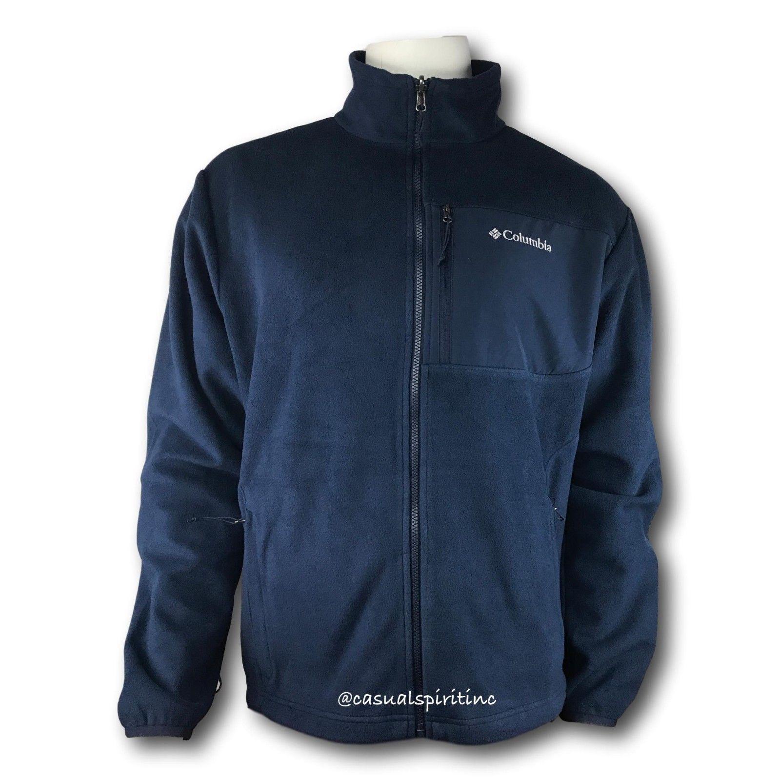ac2b6535d99e Új Columbia kabát férfi Winter Park Pass átszállni Winter Omni teljes  cipzárral Omni Heat fleece kabát