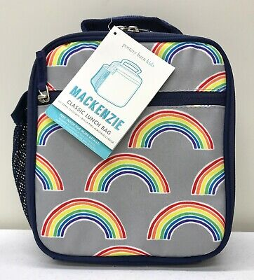 New Pottery Barn Kids Mackenzie Gray Navy Rainbow Classic