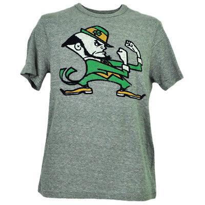 Baseball & Softball Neueste Kollektion Von Ncaa Notre Dame Kampf Irisch Filz Logo T-shirt Herren Erwachsene Kurzärmelig Gry Sport