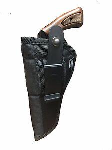 Colt-Single-Action-Revolver-Nylon-OWB-Belt-Gun-Holster-With-4-3-4-034-Barrel