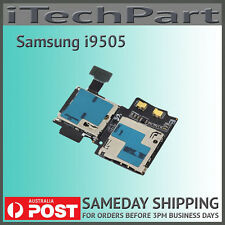 Flex cable microsd sim card holder for samsung galaxy express sgh genuine samsung galaxy s4 i9505 sim sd card reader holder flex cable replacement reheart Image collections