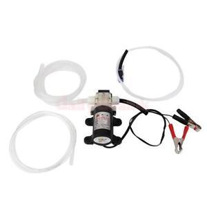 12V 5A Fluid Motor Oil Diesel Extractor Scavenge Suction Transfer Pump Jet ATV