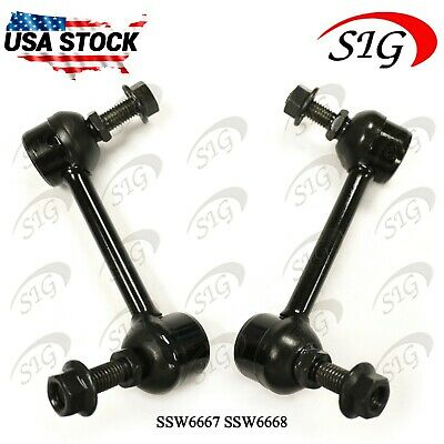 Front LH /& RH Stabilizer Sway Bar Links for Dodge Ram 1500 RWD 2002-2010 2Pc