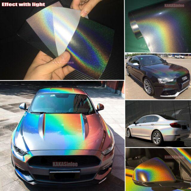Neon Rainbow Vinyl Bumper Sticker Decal 5