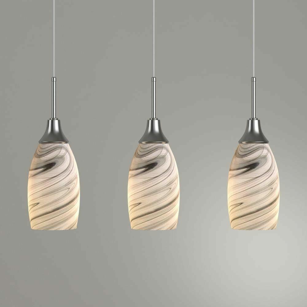 Beldi Pendant Lighting Grey Nickel 3