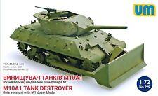 1/72 M10A1 Tank Destroyer (Late) with M1 Dozer Blade UM MODEL KIT229