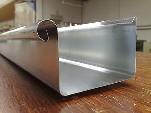 Kastenrinne  18m Titanzink Zink Kastenrinne Kastendachrinne Paket | eBay