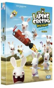 The-Raving-Rabbids-Ps2-No-Sleeve-Invasion-The-Series-TV-Part-2-DVD-New