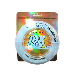 Rovex 10x Extra Heavy Duty Clear Mono Leader in 100m spools