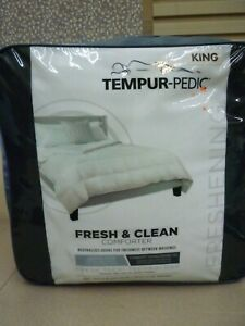 newest collection 14b18 97254 Details about Tempur-Pedic Fresh and Clean Odor Neutralizing King Comforter  White, retail $229