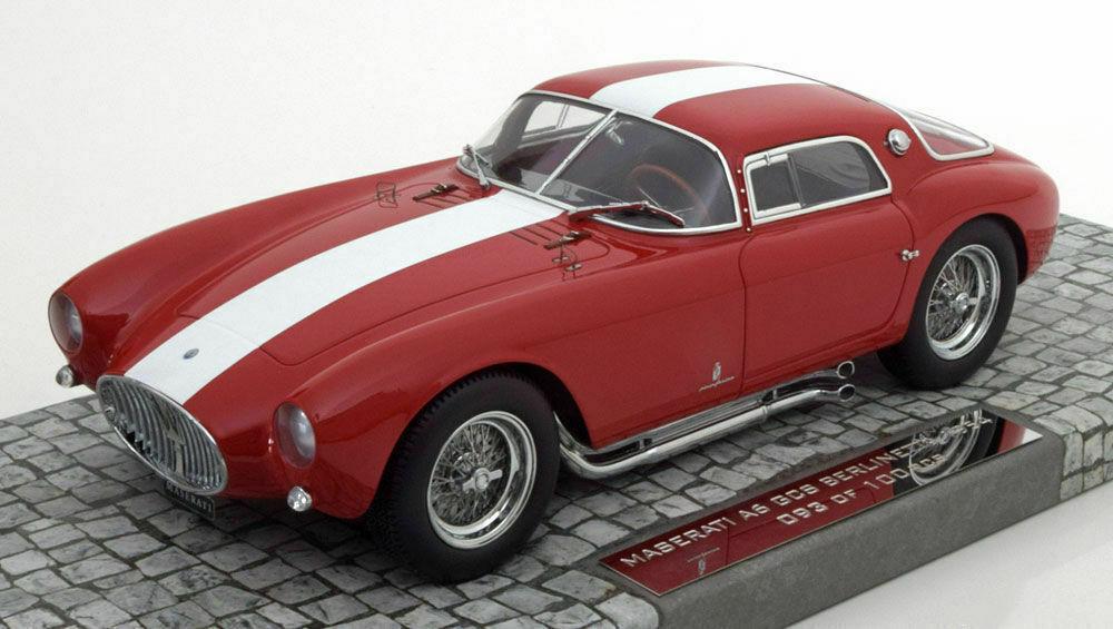 1 18 Minichamps 107123461 Maserati A6GCS 1954 Red White Stripe
