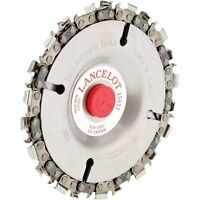 King Arthur's Tools 45822 Lancelot 22 Tooth 5/8 Hole Chainsaw Cutting Wheel