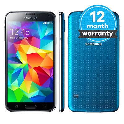 Samsung Galaxy S5 Plus G901F - 16GB - Electric Blue (EE) Smartphone Pristine (A)