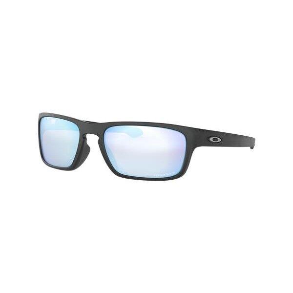 2ee087ba4b Oakley Sliver Stealth Sunglasses Black Prizm Deep Water Polarized ...