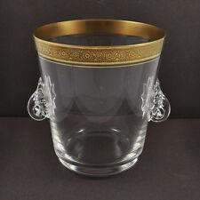 Eisbehälter Theresienthal Mintonborde Concord / Goldrand / mit Greifer & Spatel