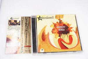 ZEBRAHEAD-BROADCAST TO THE WORLD SICP 1068 CD JAPAN OBI A13882