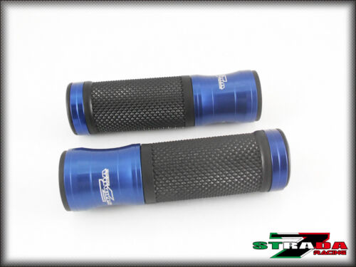 Honda CBR 600 F2 F3 F4 F4i CBR600RR VFR750 Strada 7 Racing CNC Hand Grips Blue