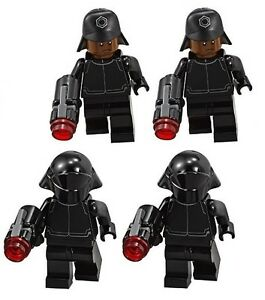 LEGO Star Wars First Order Technician with blaster from 75132