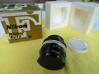 Nikon 28mm F/3.5nikkor-h C Auto-original Box & Nikon Filter-vintage-never Used
