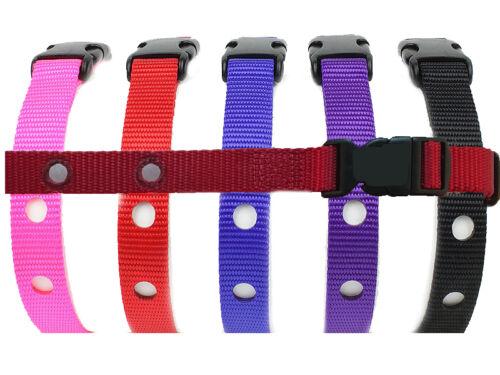 Perimeter Compatible Dog Fence Collar Receiver Nylon Strap 3//4 In for PTPFS-003