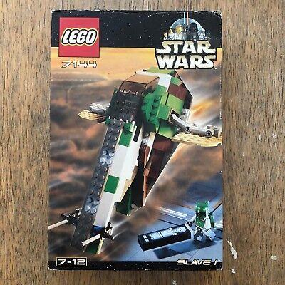 Lego 7144 Star Wars SLAVE I Complete w//Instructions