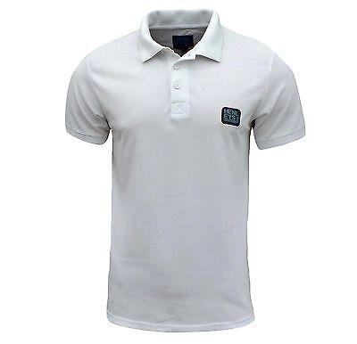 Henleys Men's Loffer Polo T Shirt White