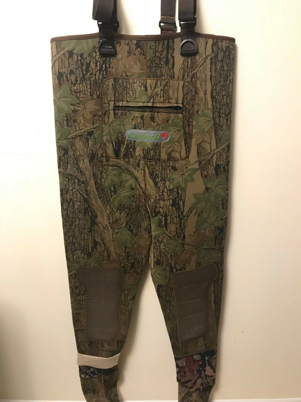 Kobuk USA Para Hombre Caza y Pesca Camuflaje KEProjoEC Pecho Wader tamaño grande