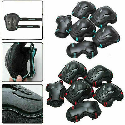 ✅7Pcs Set Helmet Knee Elbow Adult Teens Kids Skateboard Safety Protective Gear