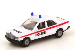 1:87 Mercedes-Benz 190E W201 Polizei Österreich - herpa Sondermodell