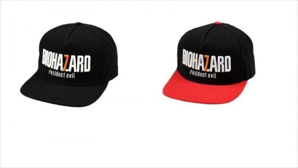 nuevo    Biohazard 7 Gorra De Béisbol Negro o Rojo Capcom de Japón Envío gratuito  protección post-venta