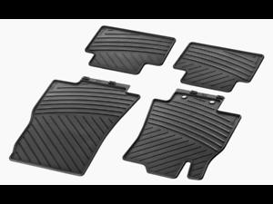 Fußmatten Ori Mercedes Benz Allwetter Fußmatten Fond Gummi B-klasse W242 A24268006489g33 Innenausstattung