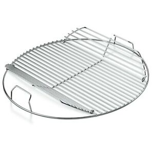 Weber-Grill-Grate-Replacement-Grates-Bbq-22-Inch-Charcoal-Cooking-Hinged-Outdoor