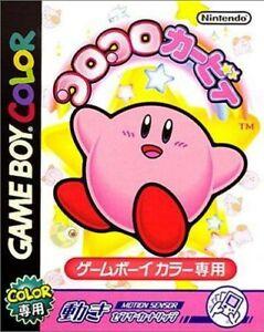 Nintendo-Gameboy-Color-juego-Koro-Koro-Kirby-Tilt-039-n-039-tumble-jap-modulo
