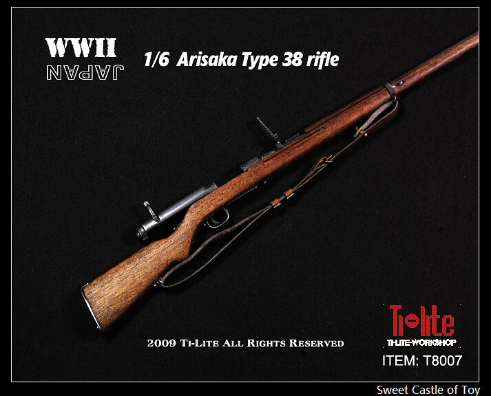 1/6 Ti-Lite Action Figure Accessory - Arisaka Type 38 Rifle For DID Dam Hot Toys