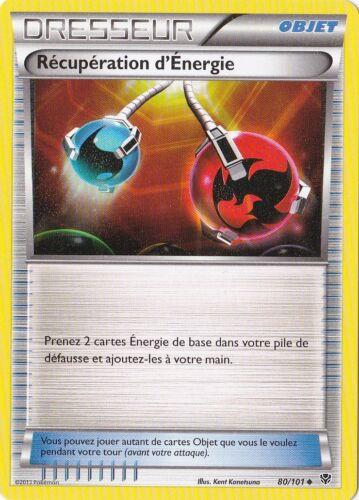 Récupération d/'Energie-N/&B:Explosion Plasma-80//101-Carte Pokemon Neuve Française