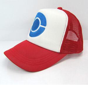 ce8a8c53251b5 Image is loading Anime-Cosplay-Pokemon-Pocket-Monster-Ash-Ketchum-Baseball-