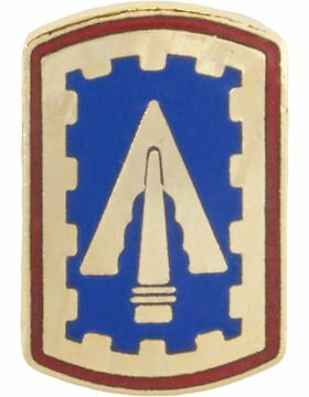 NS-T-P-0108 108th Air Defense Artillery Brigade Tie Tac No-Shine