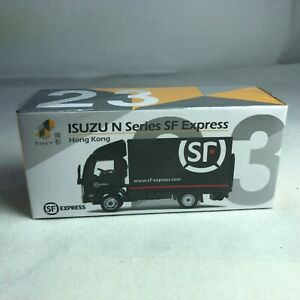 1-64-TINY-Hong-Kong-CAR-23-Die-cast-Truck-ISUZU-N-Series-SF-Express