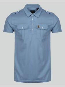 Luke-Sport-Mens-And-Why-Not-Polo-Chest-Pocket-Short-Sleeve-Polo-Shirt