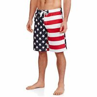 Mens American Flag Swim Trunks Usa Board Shorts Swimsuit S M L Xl 2xl 3xl 4xl 5x