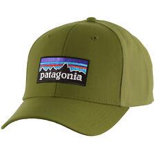 Patagonia Mens P-6 Logo Roger That Snapback Cap hat 38132 Black for ... 8d75a69cebe1