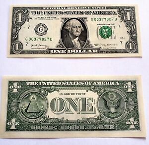 Billet-de-1-DOLLAR-neuf-one-US-DOLLAR-Idee-cadeau-Ideal-pour-collection